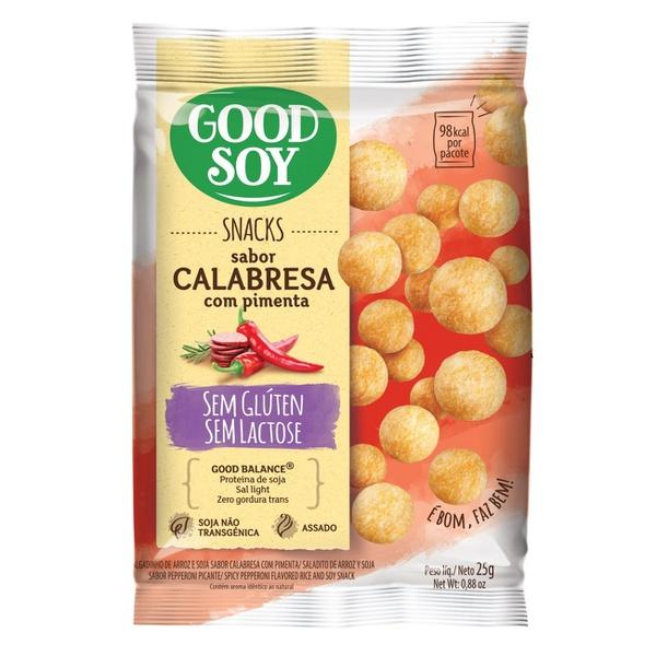 Snack de Soja Pimenta com Calabresa 25g