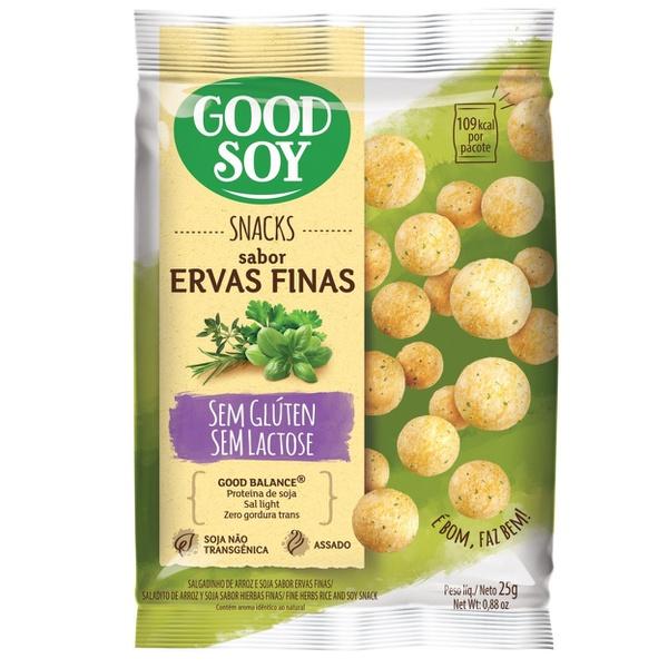 Snack de Soja Ervas Finas 25g