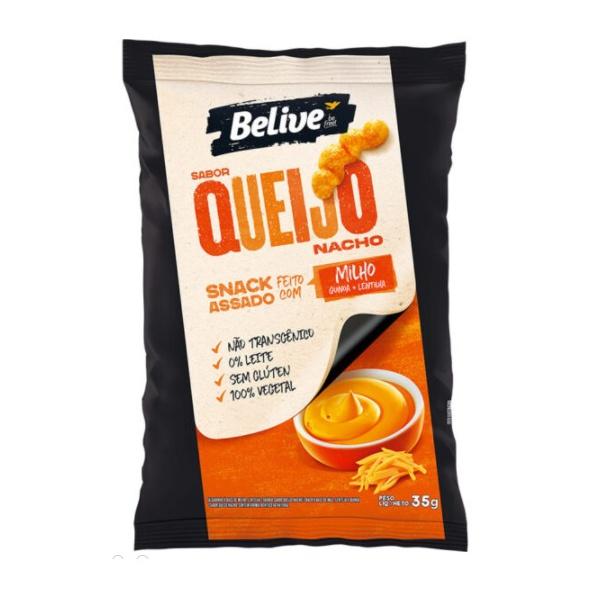 Snack de Milho Sabor QueijoNacho 35g