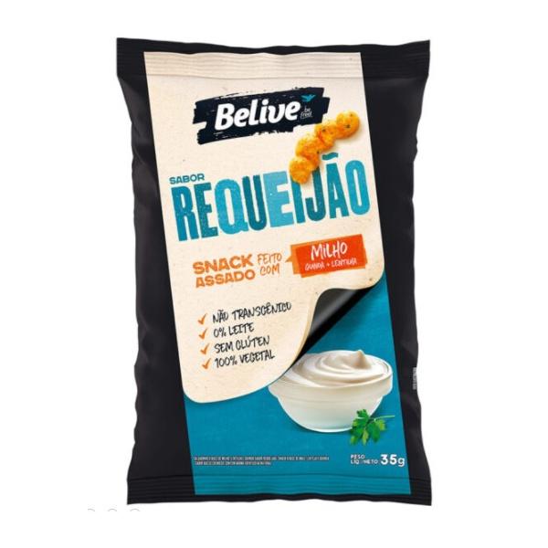 Snack de Milho Sabor Requeijão 35g