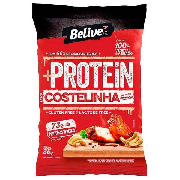 Protein Snack Belive Costelinha ao Molho Barbecue 35g