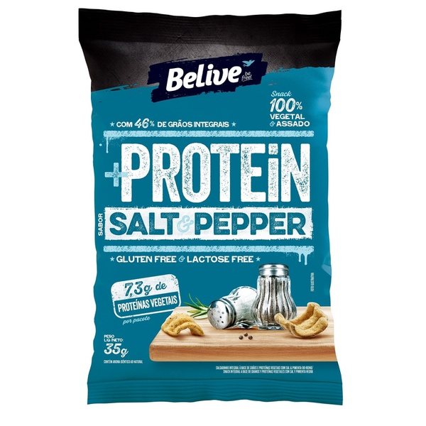 Protein Snack Belive Salt Pepper 35g