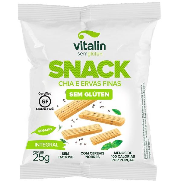 Snack Salgado Chia com Ervas display 12x25g