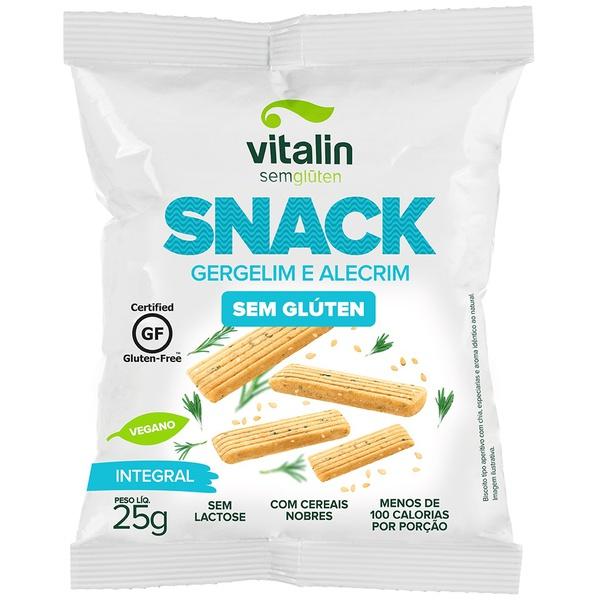 Snack Salgado Gergelin com Alecrim Display 12x25g