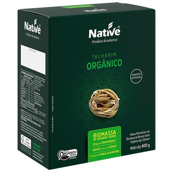 Talharim Orgânico Biomassa de Banana Verde 400g