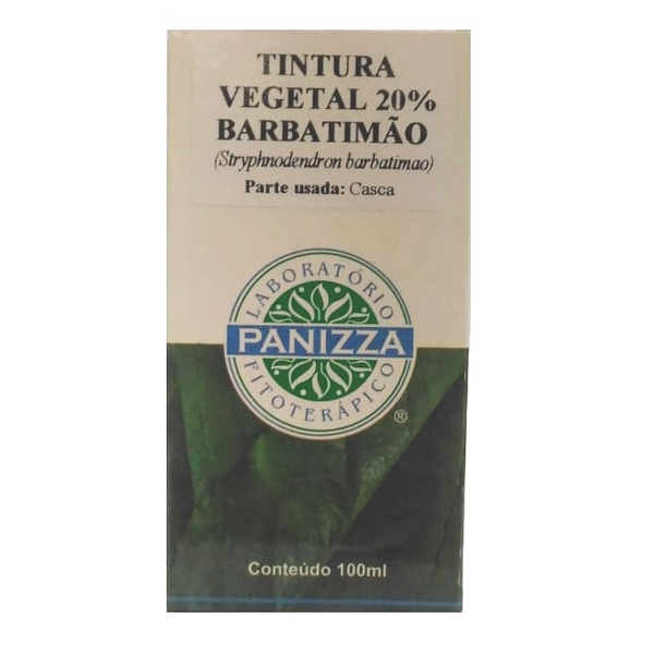 Barbatimão Tintura Vegetal 20% 100ml