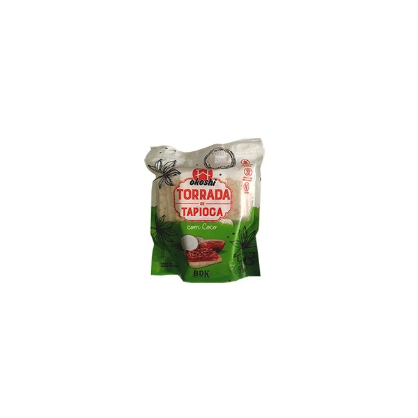 Torrada de Tapioca Com Coco veg 75g