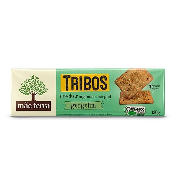 Cracker Tribos Orgânico Integral Gergelim 130g