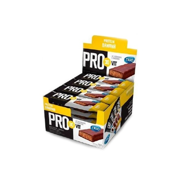 Trio Protein Pro Vit30 Banana Display 24x33g