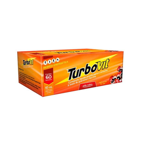 Turbovit Flaconete Display 60x10ml