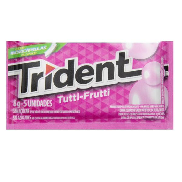 Trident Tutti Frutti Display 21 unidades