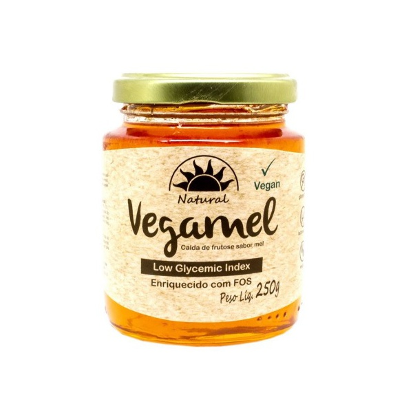 Vegamel Calda de Frutose Sabor Mel 250g