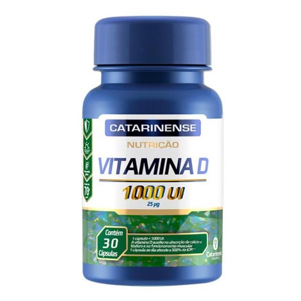 Vitamina D 30 Cápsulas 1000ui