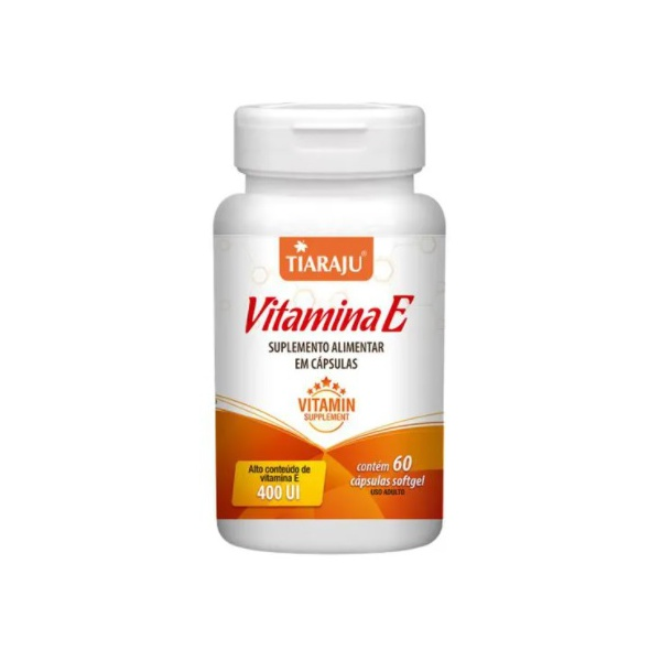 Vitamina E 60 caps x 10mg - Tiaraju