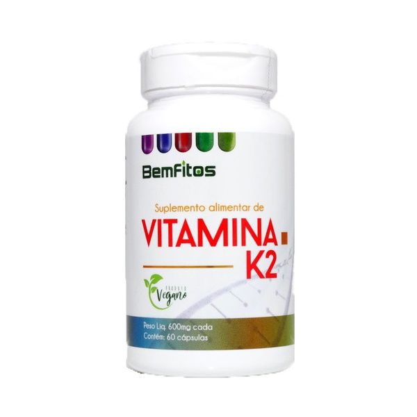 Vitamina K2 Vegana 60 x 600mg