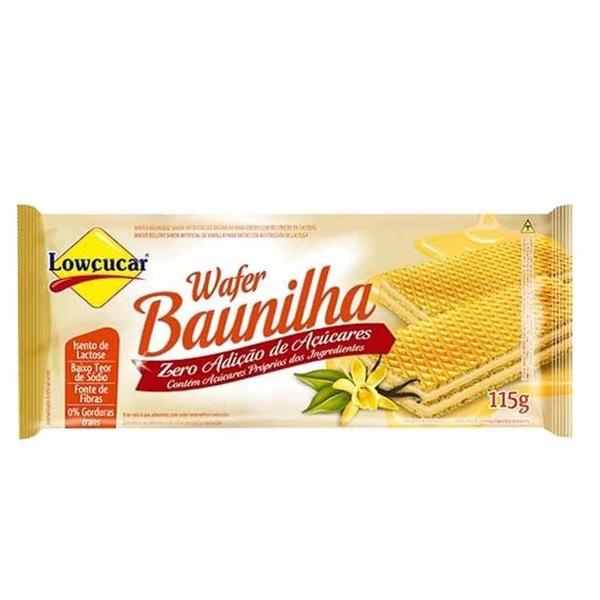 Wafer Baunilha Zero Açúcar 115g