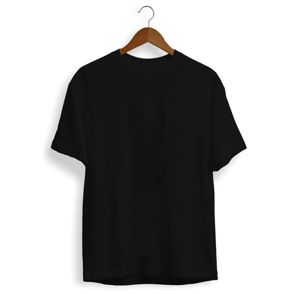 Camiseta Preta Básica Unissex Liso