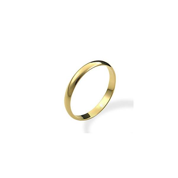 Aliança Folheada Ouro 18k - 3mm