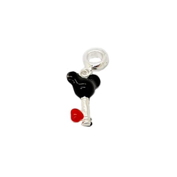 Berloque Prata Chave do Mickey