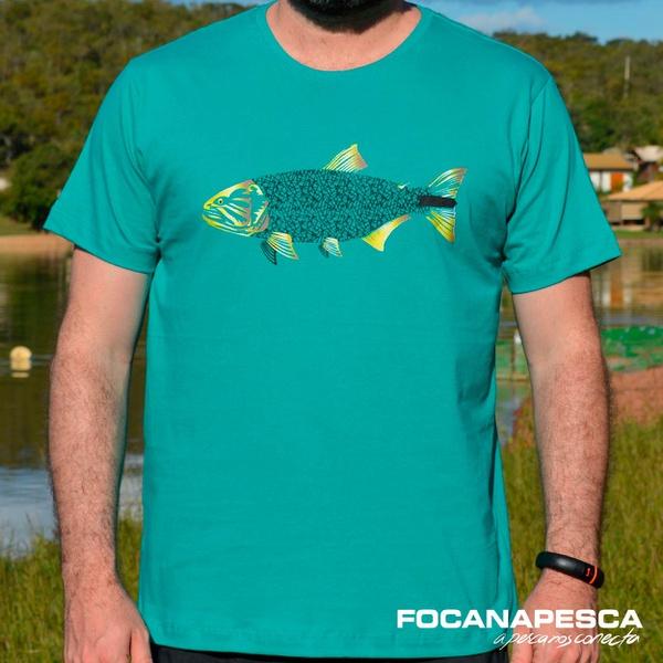 Camiseta Focanapesca Dourado