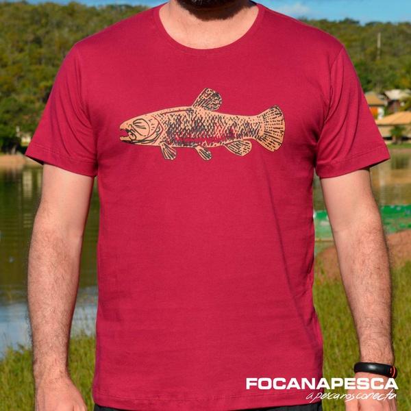 Camiseta Focanapesca Traíra
