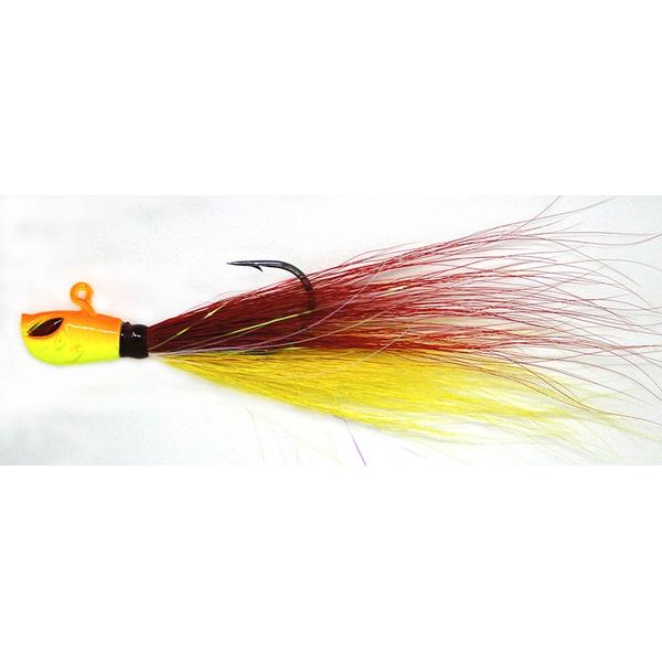 Isca Yara Killer Jig 4/0 15g Cor Vermelho e Amarelo