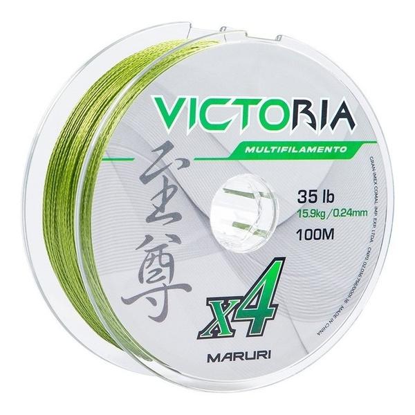 Linha Multifilamento Maruri Victoria Super PE 4X 100m - Verde