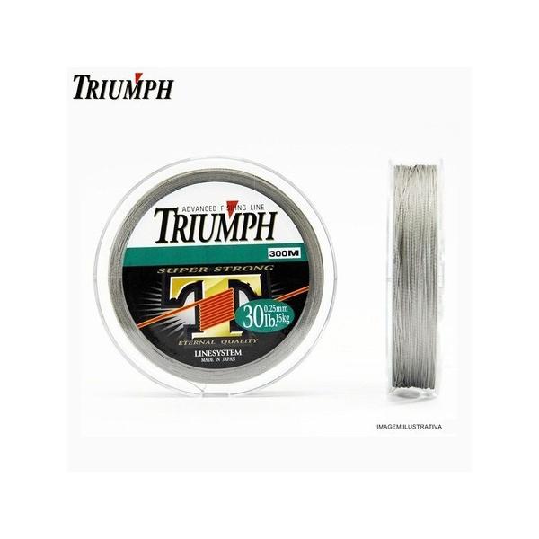 Linha Multifilamento Triumph Super Strong PE