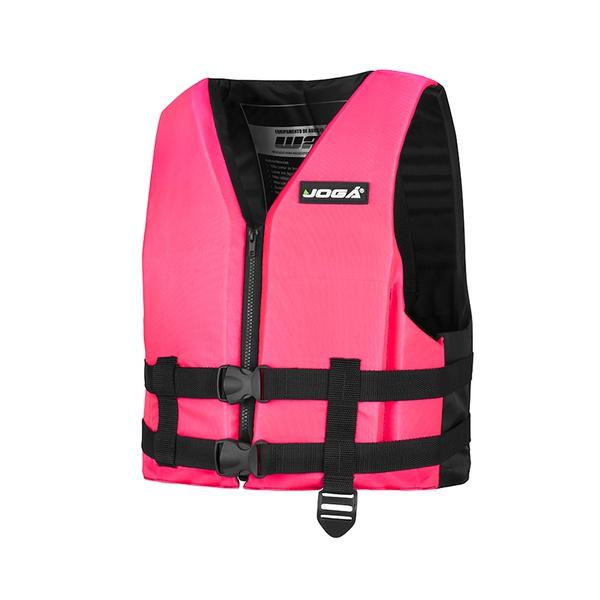 Colete Salva Vidas Jogá Wave para 15kg - Cor Rosa