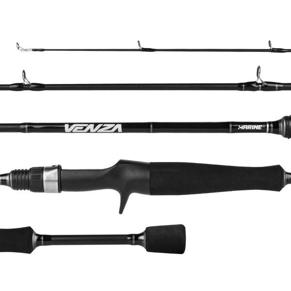 "Vara Marine Sports Venza VNZ-C571M 10-20lbs 5'7""(1,70m) 1 parte p/ Carretilha"