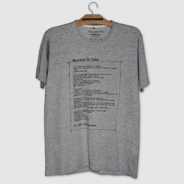 Camiseta For Fisher Manifesto