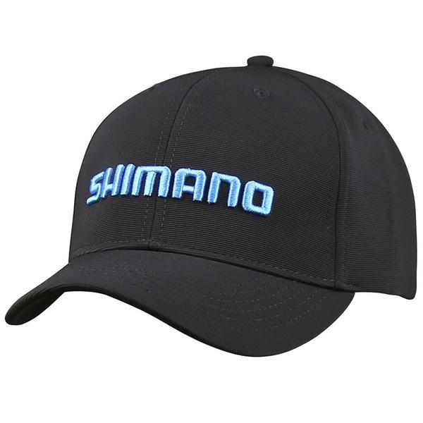 Boné Shimano Platinum Preto e Azul Original