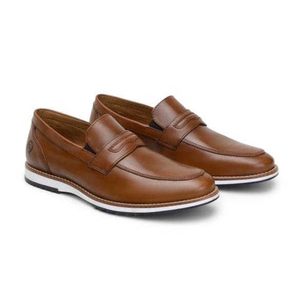 Sapato Casual Martin Whisky em Couro
