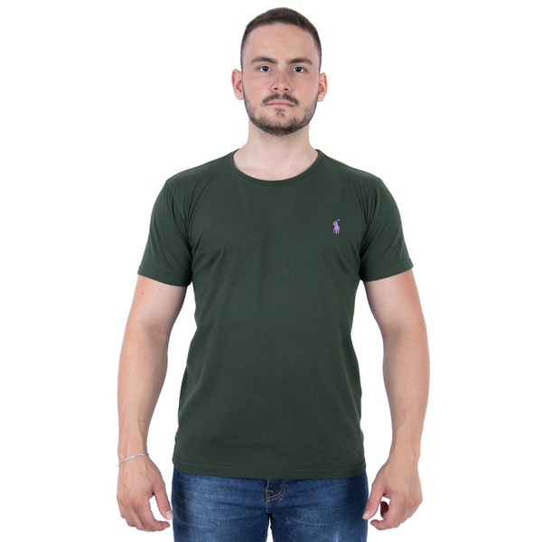 Camiseta Verde Escuro - RL Custom Fit