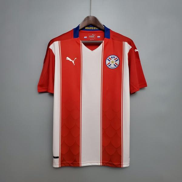 camisa Paraguay seleção 20/21 (TORCEDOR)