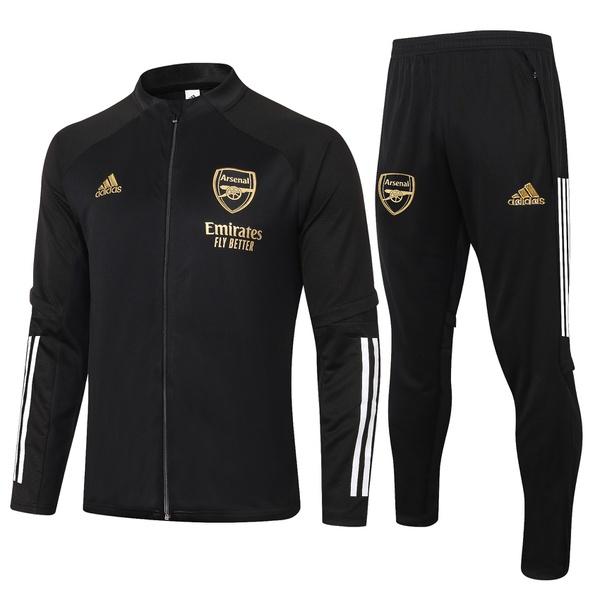 Kit Agasalho Moletom Arsenal ziper completo