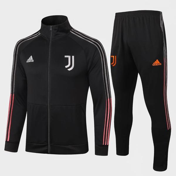 Kit Agasalho Moletom Juventus ziper completo
