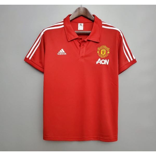CAMISA POLO MANCHESTER UNITED 20/21 (TORCEDOR)