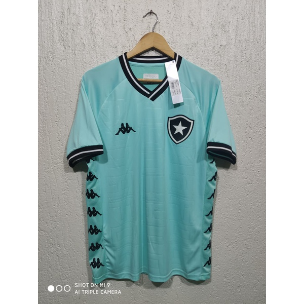 Camisa Botafogo goleiro III Kappa 19/20 Torcedor