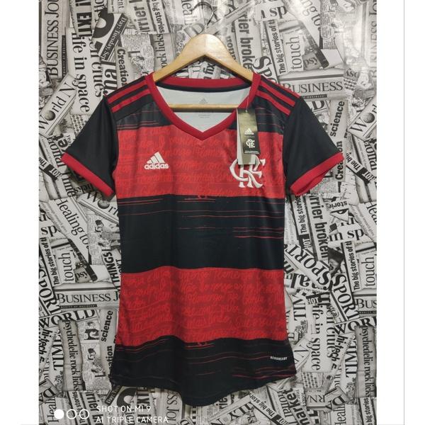 Camisa Flamengo I 20/21 Torcedor Feminina