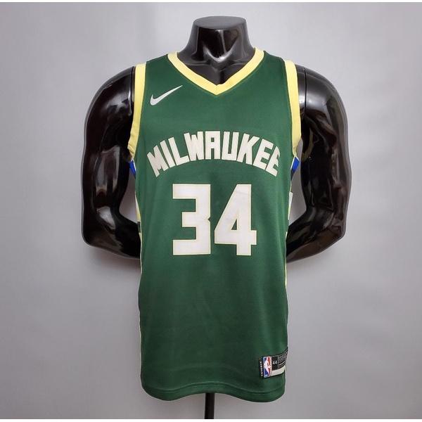 Regata Nba Milwaukee silk (jogador) Giannis Antetokounmpo 34