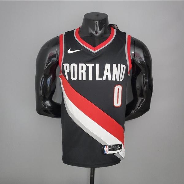 Regata NBA Portland Trail Blazers Silk (jogador) Damian Lillard 0