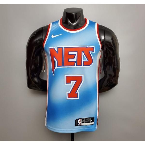 Regata NBA Brooklyn SILK (Jogador) Kevin Durant Camisa 7