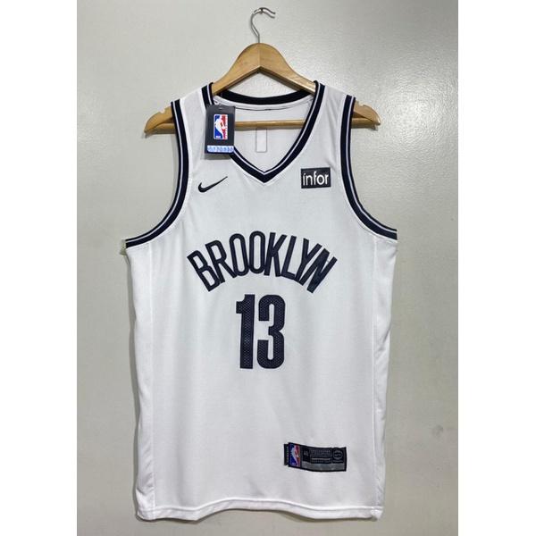 Regata NBA Brooklyn Bordada (Torcedor) Harden Camisa 13