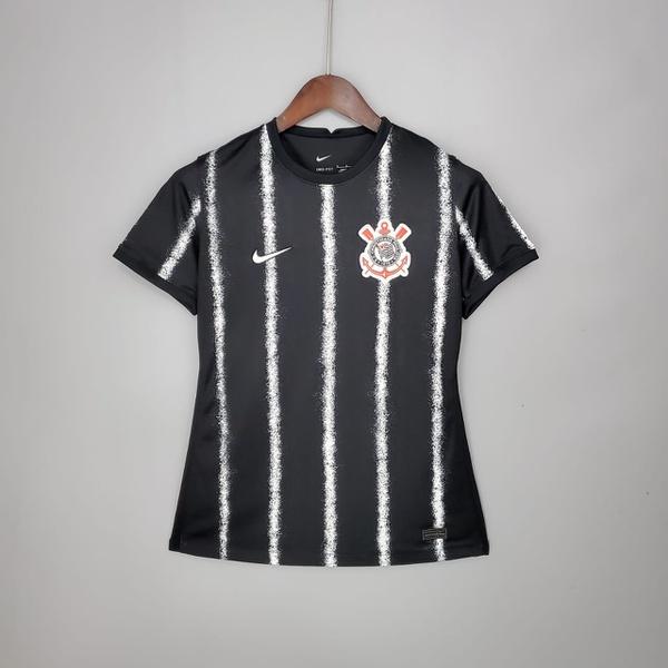 Camisa Corinthians feminina 21/22