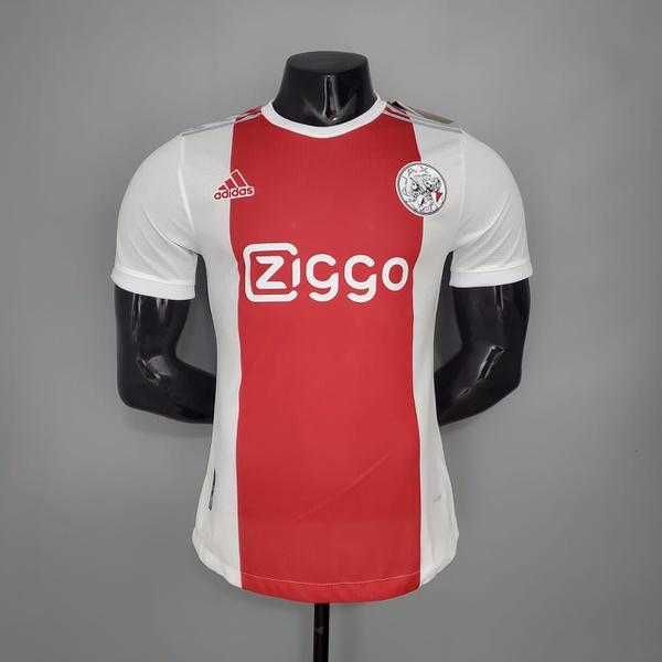 Camisa Ajax versão jogador 21/22