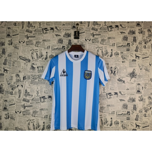 Camisa Retrô Argentina 1986 Torcedor