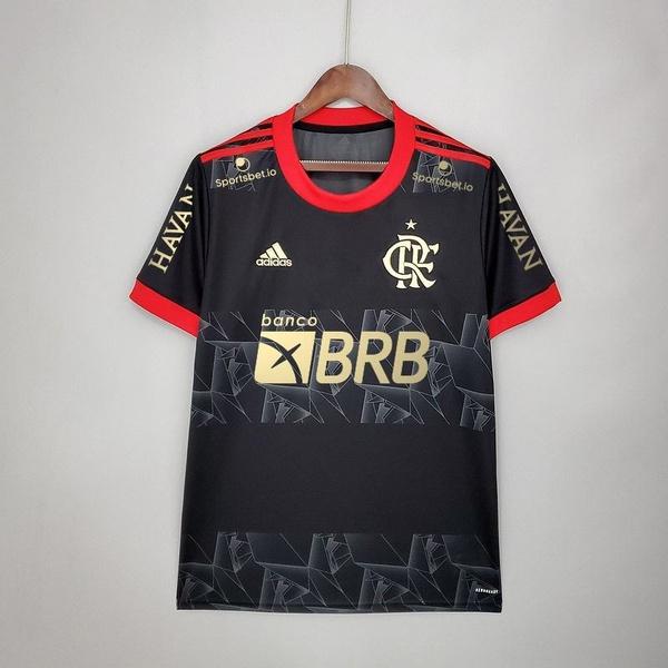 Camisa Flamengo III 21/22 Com Patrocínio