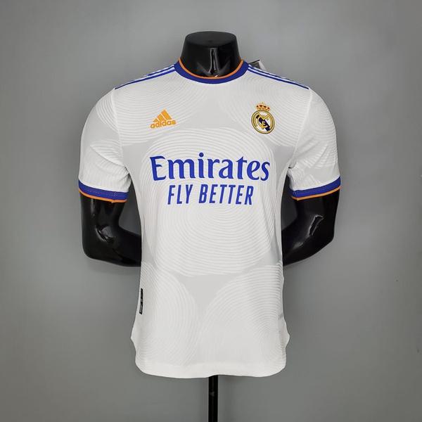 Camisa Real Madrid Home 21/22 Jogador