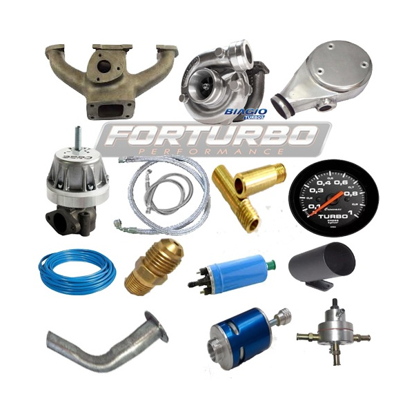 Kit turbo para motor CHT carburado com turbina 42/48